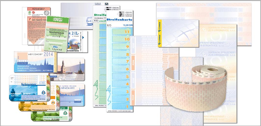 Tickets und Fahrscheine (Muster / specimen)