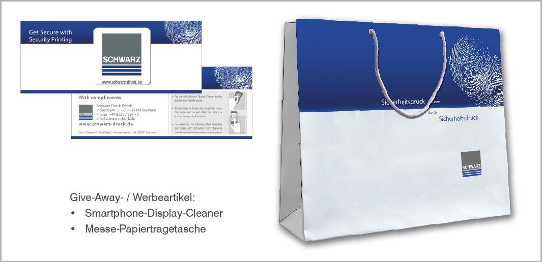 Werbemittel - Schwarz Druck GmbH - Sicherheitsdruckerei, Hausham