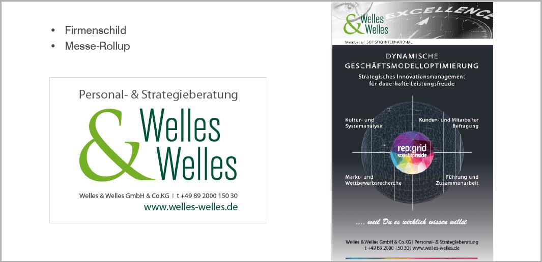 Werbemittel - Welles & Welles GmbH, Personal- und Strategieberatung, München