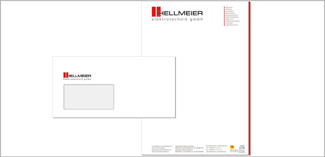 Hellmeier Elektrotechnik GmbH - Geschäftspapiere